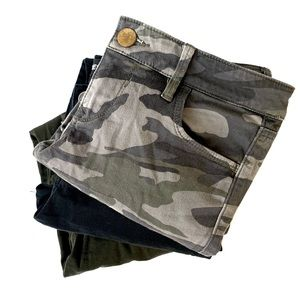 🆕 | stella skinny & cargo ankle 3 pant bundle |